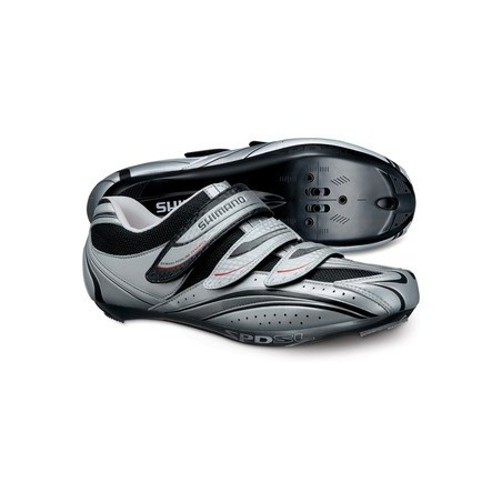 ZAPATILLAS SHIMANO R077 ROAD GRIS