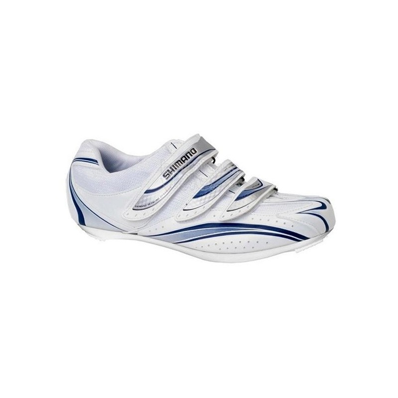 ZAPATILLAS SHIMANO R077WB ROAD BLANCO